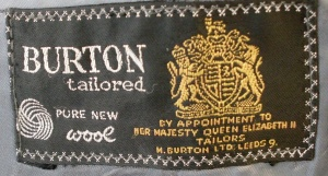 1960s Burton logo