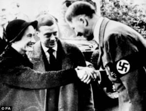 Edward VIII meets Hitler