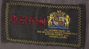 burton 1980s logo