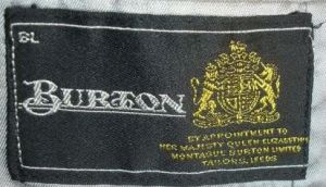 Early 70s Burton logo