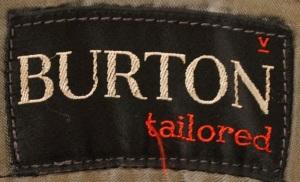 1950s Burton Logo