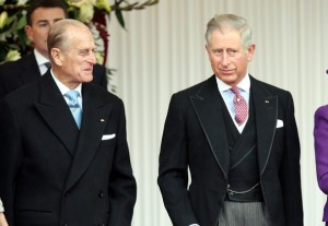 Prince Charles in Edged Morning Coat and Matching Waistcoat