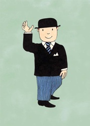 Mr Benn in Black Lounge