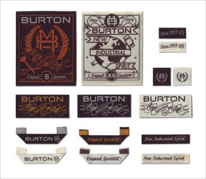 Contemporary Burton Logos