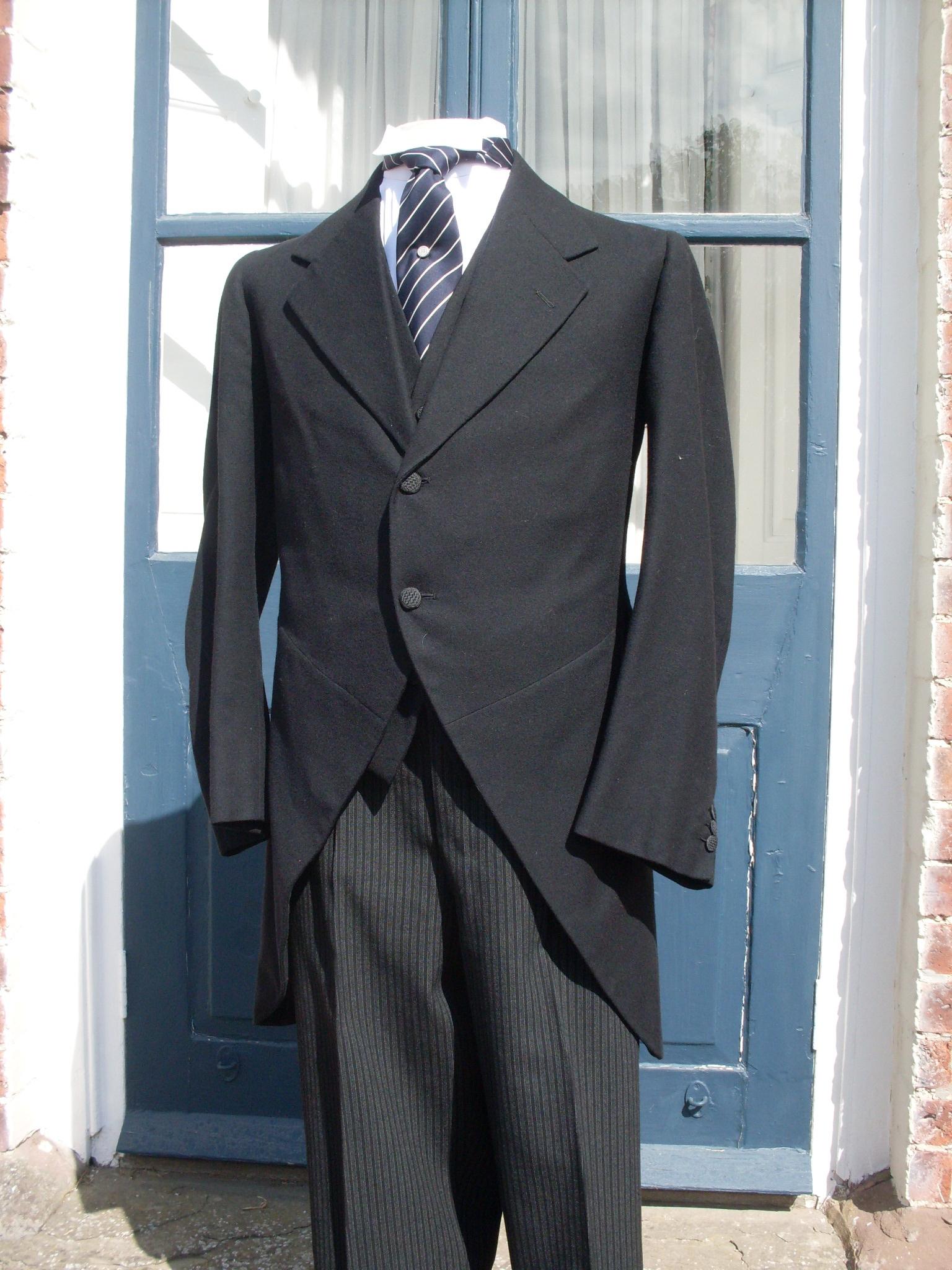 f60cfca9c Morning Coats | Andrews & Pygott: The Morning Dress Guide