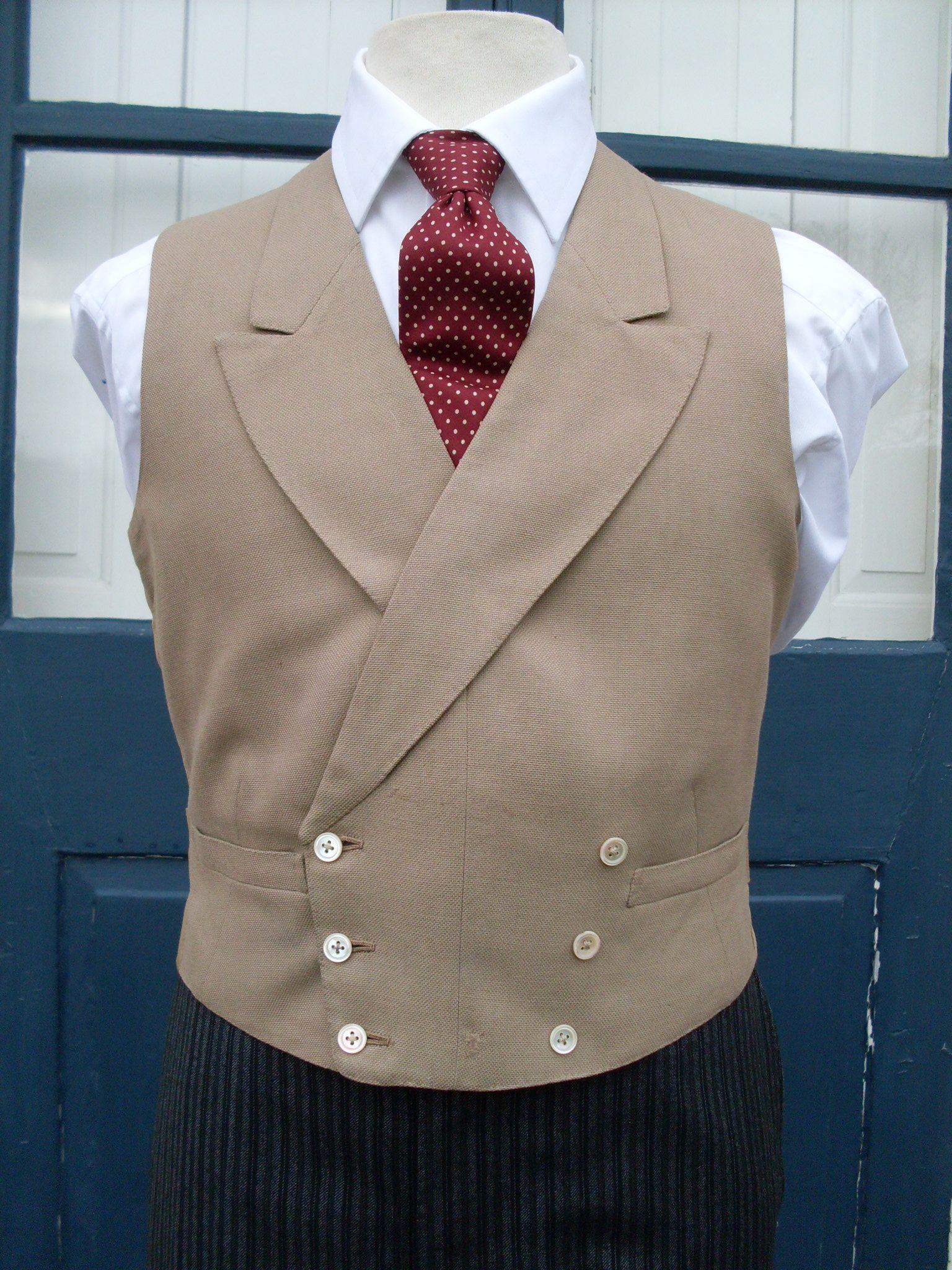 Waistcoats | Andrews & Pygott: The Morning Dress Guide