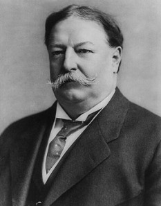 William Howard Taft in Waistcoat with Slip
