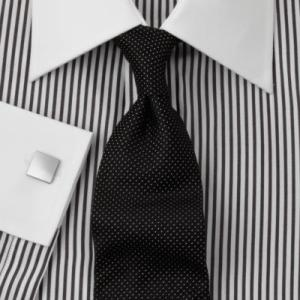 Black bengal stripe - this shirt and tie combo is very nice... very nice indeed