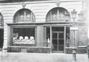 The Charvet premises in 1909