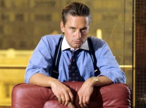 Gordon Gekko in Winchester Shirt