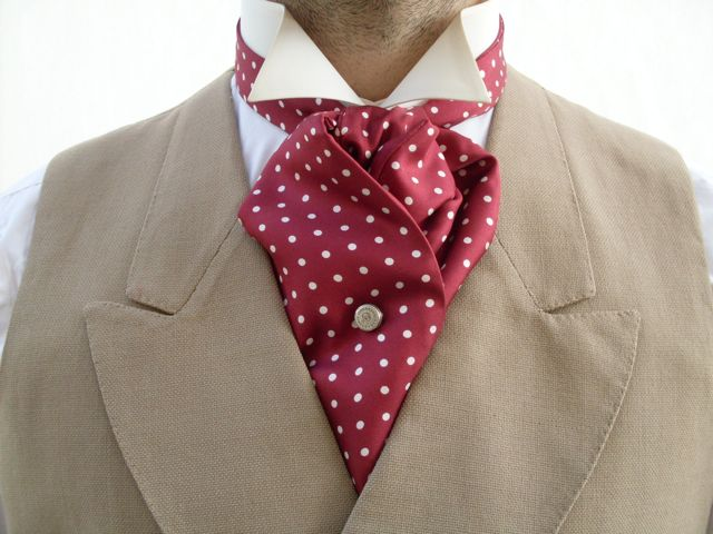 How To Make An Ascot Tie 秘雲舘 Into The Hidden Clouds