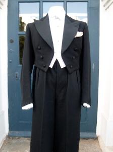 Bespoke 1936 Hector Powe Evening Suit. Glorious!