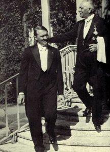 Hitler in black waistcoat
